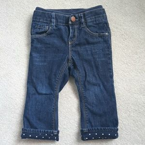 Baby Gap Jersey lined Jeans size 18-24 months